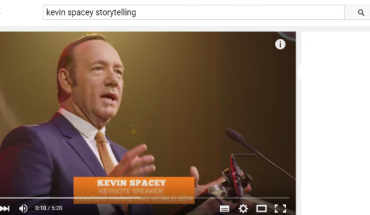 Storytelling secondo Kevin Spacey