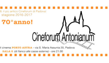cineforum antonianum 2016 cinema a Padova