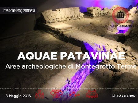 Invasioni digitali 2016 aquae patavinae Montegrotto Terme