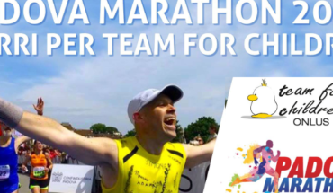 Padova Marathon 2017 Team for Children charity program