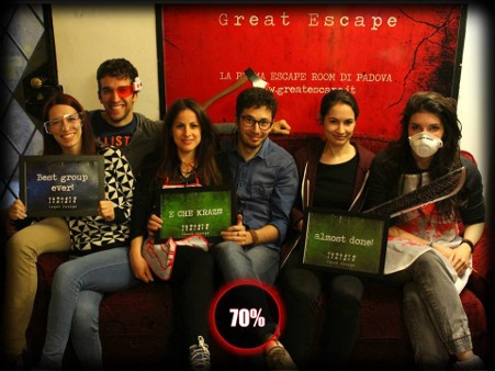 Great escape Padova Escape room a Padova