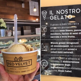 Gelateria Red Velvet bakery e icecream gelaterie a Padova
