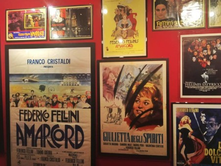 cinema di Fellini in mostra a Padova