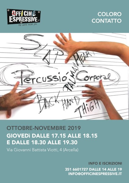 Coloro contatto laboratorio per bambini a Padova